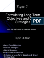 Topic-05 (Long Term Strategies)