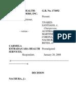 Philippine Health Care v Estrada