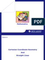Cartesian Coordinate Geometry and Straight Lines-1