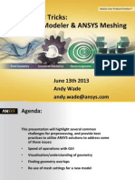 Tips and Tricks ANSYS