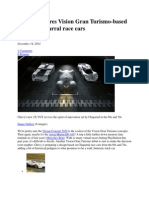 Chevy Prepares Vision Gran Turismo