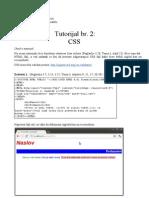 WTTutorijal2 CSS
