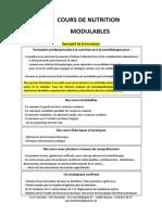 Le 2e Cerveau, formation pro nutrition et nutrithérapie lausanne et Yverdon 2015