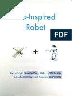 bio-inspired robot-cribot