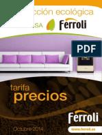 Tarifa Biomasa Ferroli 2014