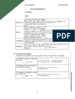 Análisis Métrico (LCL)