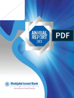 Shajalal Islami Bank Ar 2013