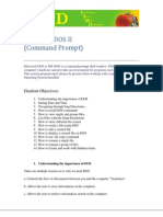 Microsoft DOS Basics II