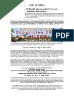 Press Release - Nota de Prensa Saona Dxpedition (1)