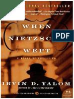 When Nietzsche Wept - Yalom, Irvin