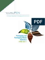 EUROPEN Packaging Packaging Waste Statistics 1998-2011