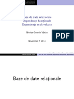 3-5. Alg. relationala+Dependente