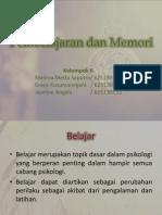 Pembelajaran Dan Memori