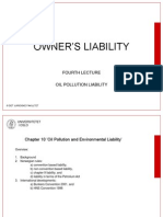 Oil Pollution Liability