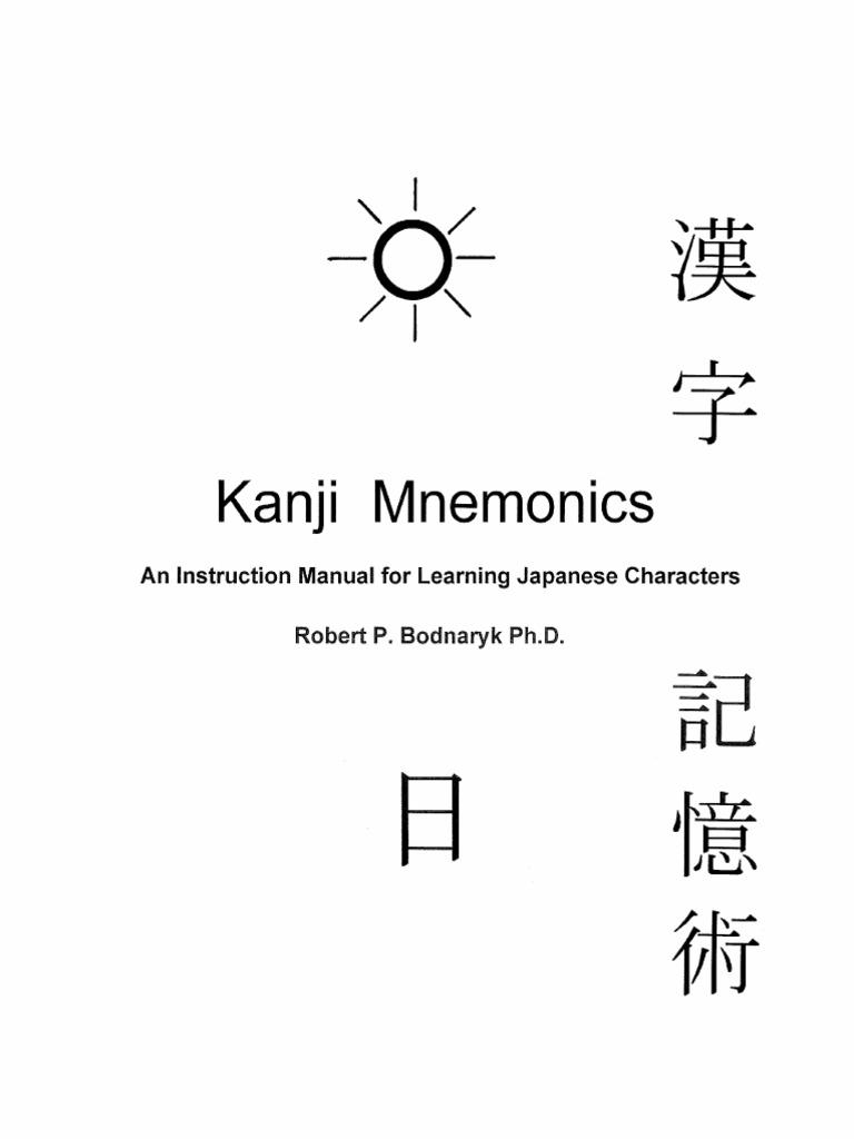 Kanji mnemonics kanji japanese language biocorpaavc Image collections