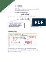 Esercizi Excel