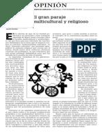 141119 La Verdad (Opinión)- Martín Serrano. El Gran Paraje Multicultural y Religioso p.14