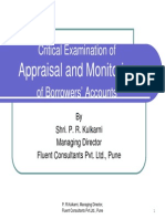 Appraisal Monitoring