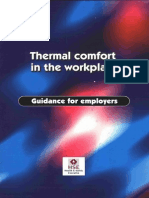 Thermal Comfort in the Workplace Hsg 194
