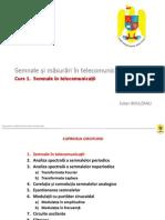 Curs 1 Semnale in Telecomunicatii