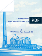 The Sermon on the Mount - H.H. Pope Shenouda III