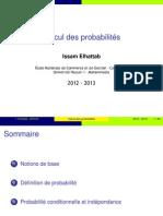 Probabilité et statistique ENCG CASABLANCA