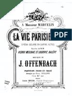 La Vie Parisienne Partitions