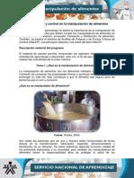 Manipulación de alimentos HACCP