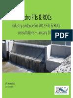 ---- Hydro Industry Evidence - ROC Consultation - 12 Jan 2012 (1)