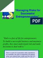 Managing Risks-successful-Entrepreneurs-JS for TSM 19May2014