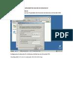 implementacón de una red IP