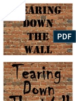 Education Tearing Down the Wall