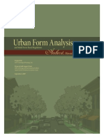 Urban Form Analysis
