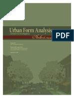 Urban Form Analysis