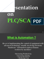 Automation With Plc and Scada Presented by Lokesh Bhasin