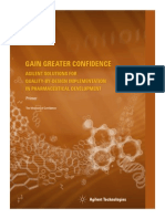 Agilent QbD - Quality by design