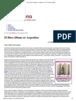El Libro Álbum en Argentina - Imaginaria No