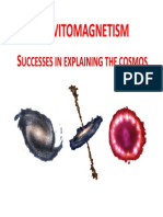 Gravitomagnetism - successes in explaining the cosmos