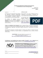 ACUERDO DE TRABAJADORES DE ARTE CONTEMPORÁNEO - Chile. Versión 4. Septiembre 2014