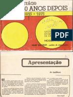 1975 Revista Dos 50 Anos de Santo Anastácio 1925-1975