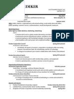 current resume 2014