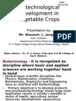 Biotech Development in Veg Crops 03 by  bhavesh