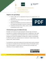 Objetivos Módulo 1 | MOOC Comunicación y Aprendizaje Móvil