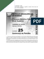 37249809 CESPE Petrobras Quimico 2004 Resolucao Comentada