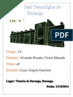 c Sharp Alvarado Victor
