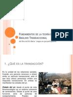 Fundamentos de análisis transaccional