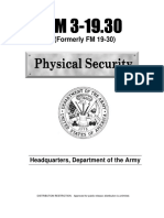 Army - fm3 19x30 - Physical Security