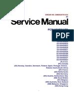 Technics Keyboard SX-KN7000 Service Manual