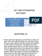 contract and estimation (project slides)