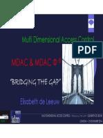 MDAC Φ ® Solution